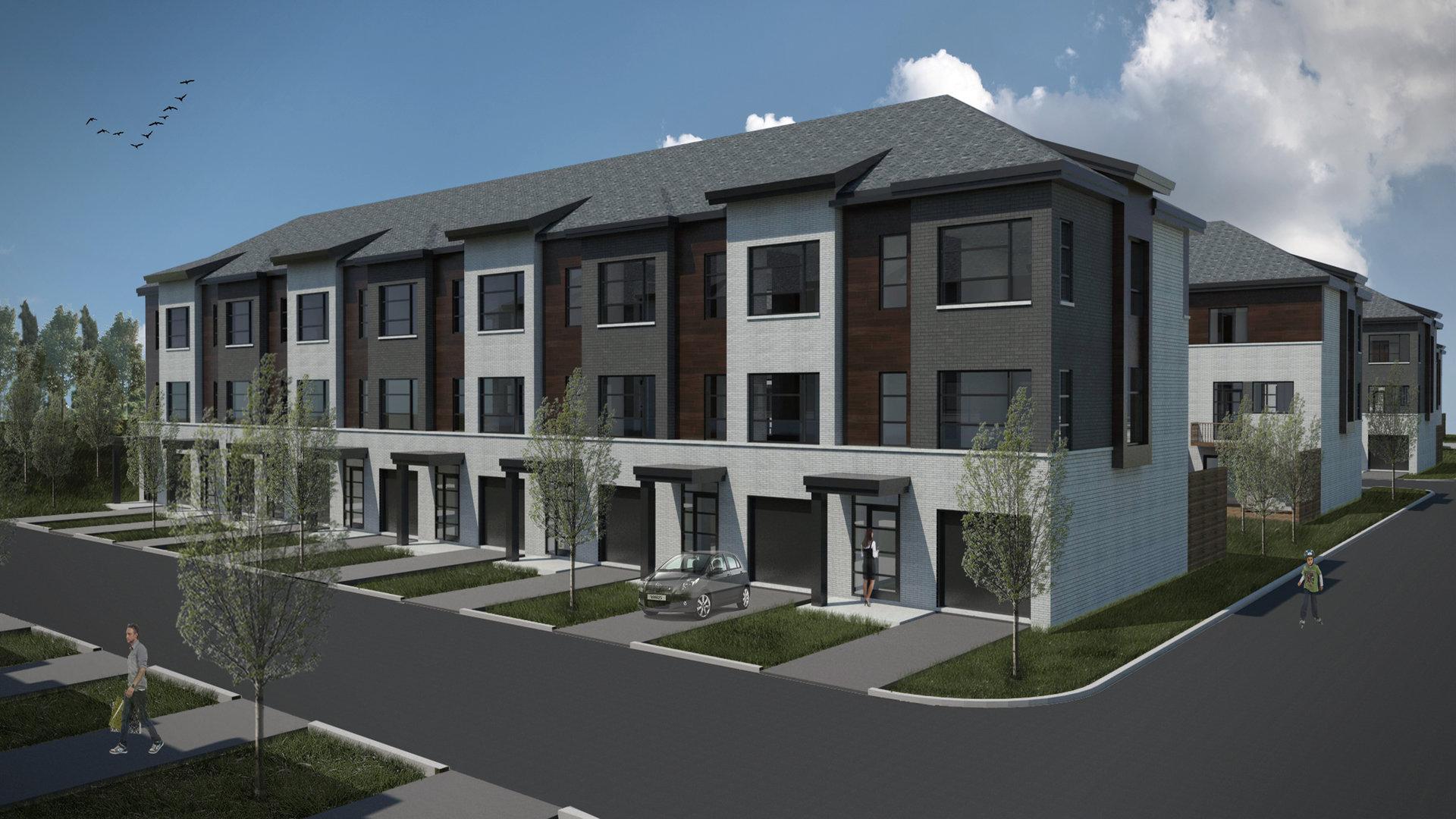 Place Ruisseau Jasmin construction neuve blainville projet immobilier
