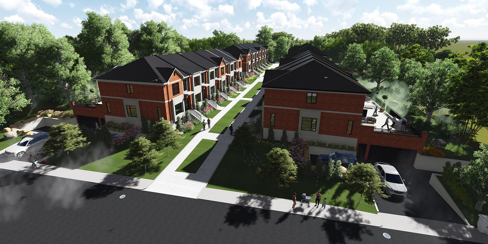 Domaine Evergreen Blainville projet immobilier construction neuve