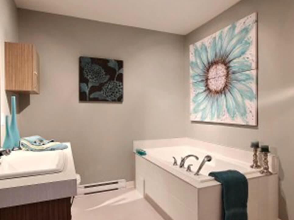 salle de bain domaine des érables laval construction neuve projet immobilier rive nord maison de ville