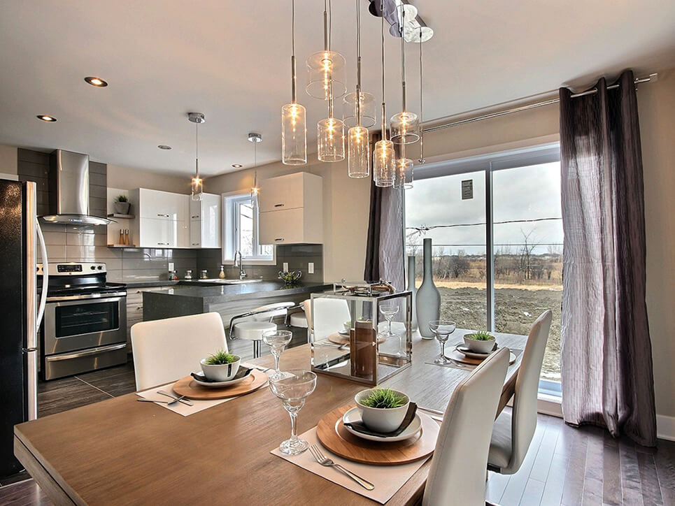 cuisine habitations duvernay est laval construction neuve projet immobilier rive nord maisons de ville