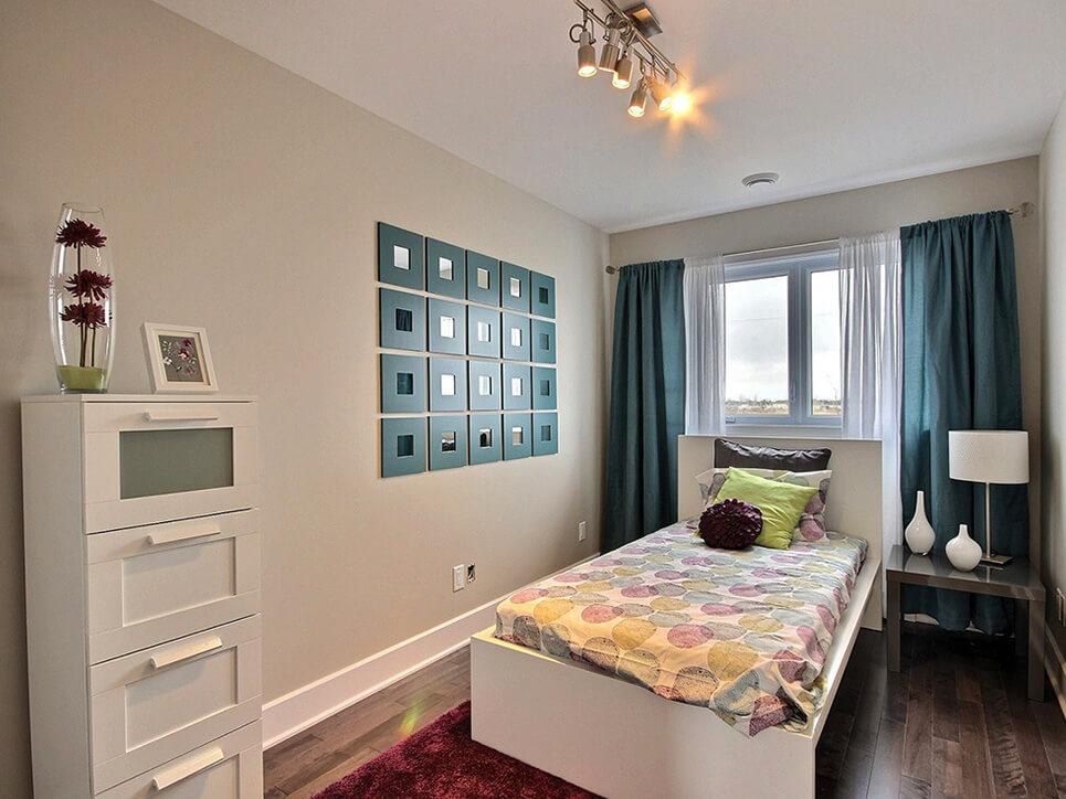 chambre d'enfant habitations duvernay est laval construction neuve projet immobilier rive nord maisons de ville