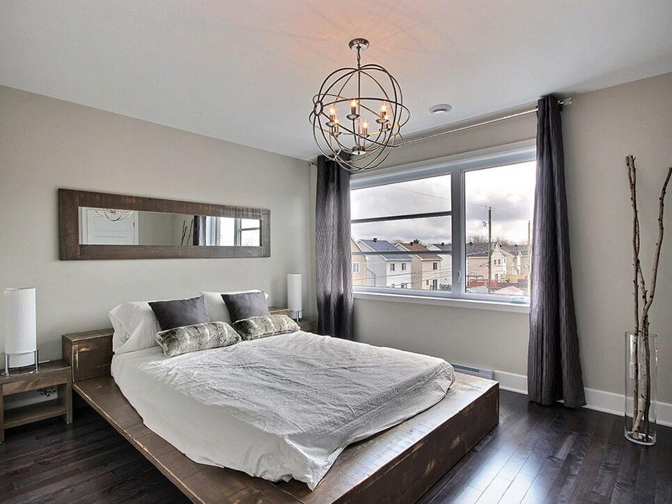 chambre des maîtres habitations duvernay est laval construction neuve projet immobilier rive nord maisons de ville