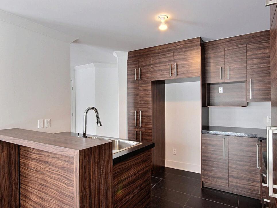 cuisine habitations champsfleury laval construction neuve projet immobilier rive nord semi-détaché