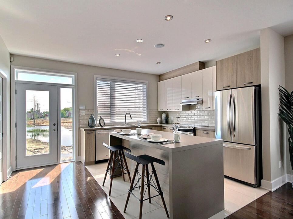 cuisine mirabel urbain construction neuve projet immobilier rive nord maisons de ville