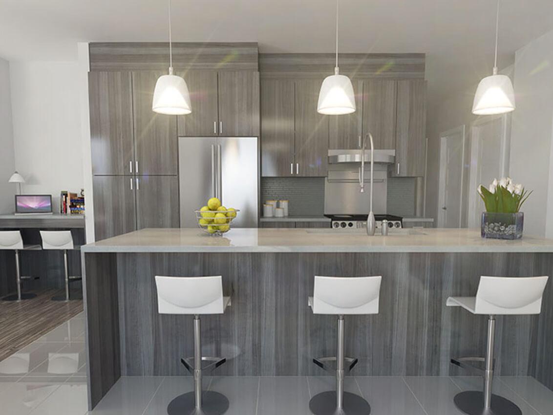 cuisine station 56 construction neuve projet immobilier rive nord condo