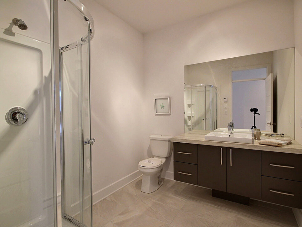 salle de bain via blainville construction neuve projet immobilier rive nord condo