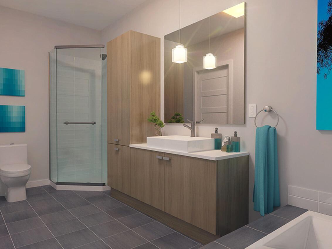 douche station 54 construction neuve projet immobilier rive nord condo