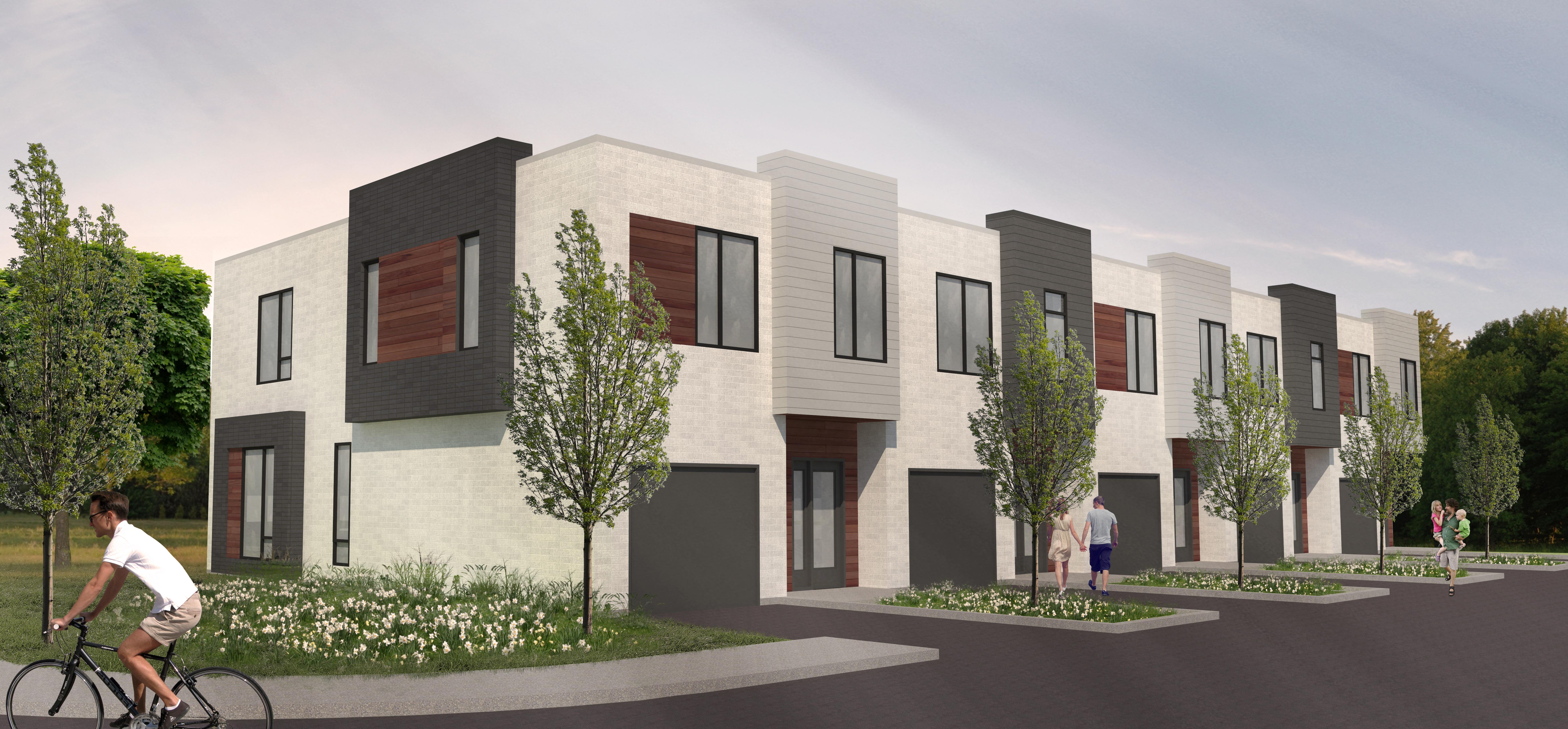 Facade Urbanova projet immobilier construction neuve blainville