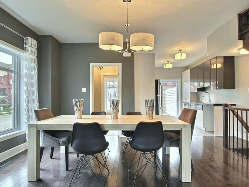 salle à manger place masséna boisbriand construction neuve projet immobilier rive nord maison de ville