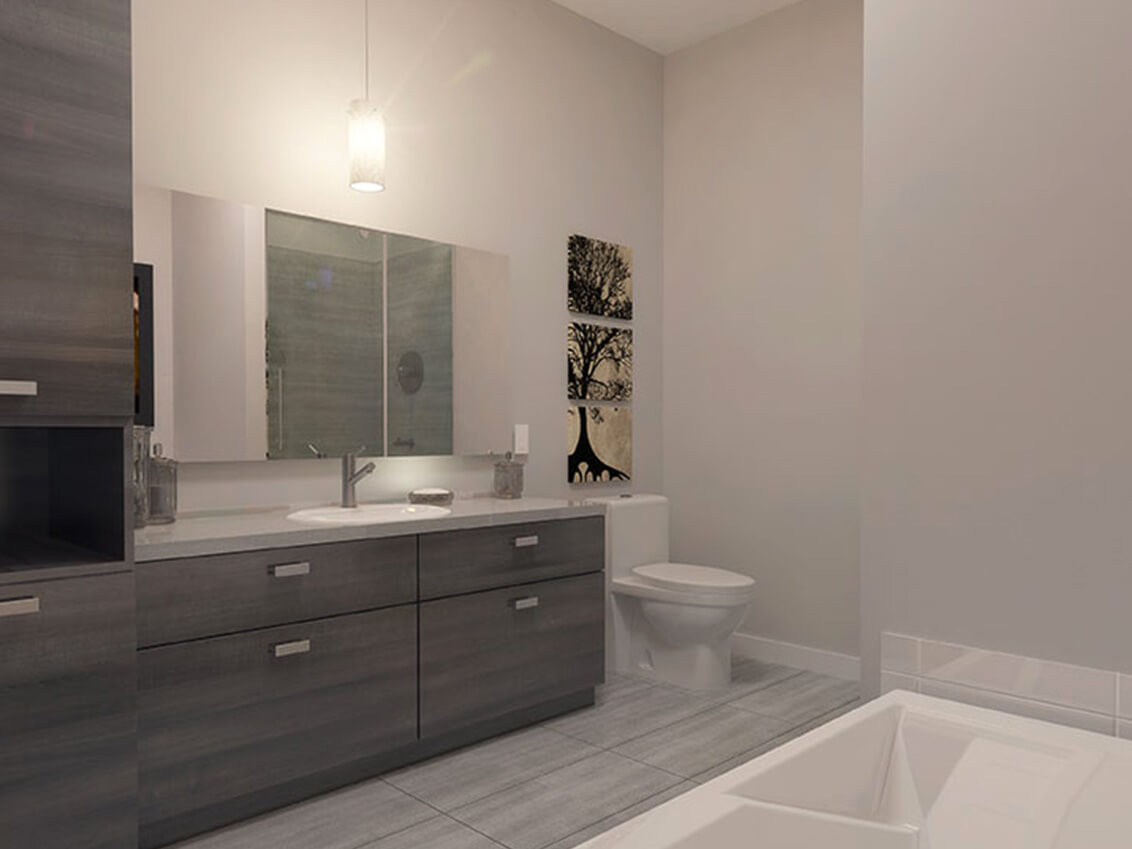 salle de bain station 56 construction neuve projet immobilier rive nord condo