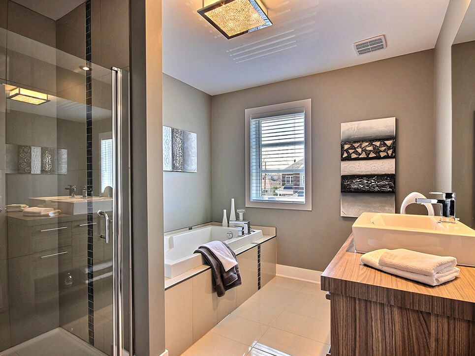 salle de bain habitations champsfleury laval construction neuve projet immobilier rive nord semi-détaché